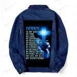 Jesus is my savior my all my everything Denim Jacket DH102411