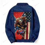 These colors don't run Denim Jacket DH102409
