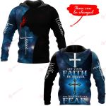 Let your faith be bigger than your fear Personalized name ALL OVER PRINTED SHIRTS 1026201
