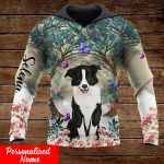 Border collie dog lover Personalized ALL OVER PRINTED SHIRTS 151220