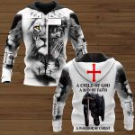 A child of god a man of faith ALL OVER PRINTED SHIRTS 151220