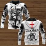 I'm on team Jesus ALL OVER PRINTED SHIRTS 161220