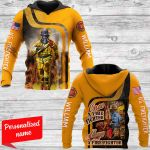 Once a firefighter always Personalized ALL OVER PRINTED SHIRTS 161220
