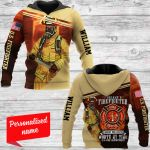 I became a firefighter Personalized ALL OVER PRINTED SHIRTS 161220