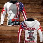 Jesus is my rock ALL OVER PRINTED SHIRTS 161220