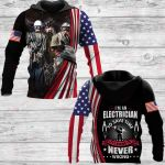 I'm an Electrician ALL OVER PRINTED SHIRTS 181220
