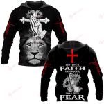 Let your faith be bigger ALL OVER PRINTED SHIRTS 191220