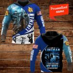 I am Lineman I fear god Personalized ALL OVER PRINTED SHIRTS 191220