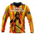 Female firefighter ALL OVER PRINTED SHIRTS 191220