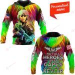 Not all heroes wear capes Personalized ALL OVER PRINTED SHIRTS 211220