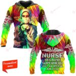 Nurse because superhero is'nt an offcial job title Personalized ALL OVER PRINTED SHIRTS 211220
