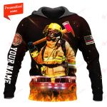 Firefighter Personalized ALL OVER PRINTED SHIRTS 211220