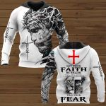 Let your faith be bigger than your fear ALL OVER PRINTED SHIRTS 221220