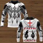 Justified by faith saved by grace ALL OVER PRINTED SHIRTS 221220