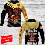 I am a firefighter Personalized ALL OVER PRINTED SHIRTS 231220