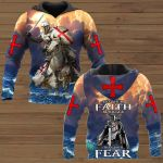 Let your faith be bigger than your fear ALL OVER PRINTED SHIRTS 241220
