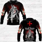 I'm on team Jesus ALL OVER PRINTED SHIRTS 241220