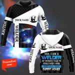 Yes, I am a welder Personalized ALL OVER PRINTED SHIRTS 241220