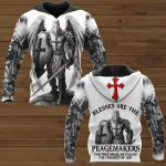 Bless are the peagemakers ALL OVER PRINTED SHIRTS 281220