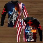 Let your faith be bigger than your fear ALL OVER PRINTED SHIRTS 281220