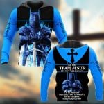 I'm on team Jesus ALL OVER PRINTED SHIRTS 281220
