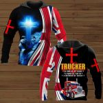 Trucker a child of god ALL OVER PRINTED SHIRTS 291220
