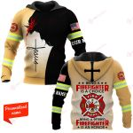 U.S. Firefighter Being A Firegighter Is A Choice Being A Retired Firefighter Is An Honor ALL OVER PRINTED SHIRTS hoodie