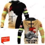 U.S. Firefighter From Father To Son ALL OVER PRINTED SHIRTS hoodie