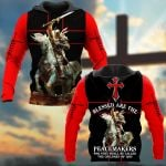 Bless Are The Peagemakers For They Shall Be Called The Children Of God Knight ALL OVER PRINTED SHIRTS