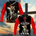 Let Your Faith Be Bigger Than Your Fear Knight ALL OVER PRINTED SHIRTS