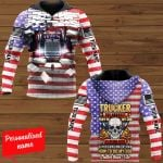 Trucker the hardest part of my job Personalized ALL OVER PRINTED SHIRTS 281220