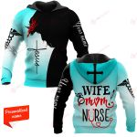 Wife Mom Nurse Personalized ALL OVER PRINTED SHIRTS