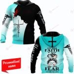Let Your Faith Be Bigger Than Your Fear #Nurselife Nurse Personalized ALL OVER PRINTED SHIRTS
