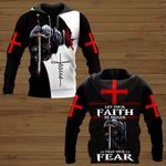 Let your Faith be bigger than your Fear ALL OVER PRINTED SHIRTS DH082502