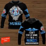 I Can't Stay At Home, I'm A Nurse We Fight When Others Can't Anymore Nurse Personalized ALL OVER PRINTED SHIRTS