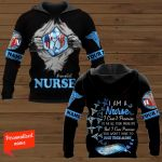 I Am A Nurse I Can't Promise To Fix All Your Problems But I Can Promise You Won't Have To Face Them Alone Nurse Personalized ALL OVER PRINTED SHIRTS