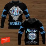 I Was Born To Be A Nurse To  Hold To Aid To Save To Help To Teach Nurse Personalized ALL OVER PRINTED SHIRTS