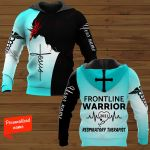 Frontline Warrior 2021 Respiratory Therapist Nurse Personalized ALL OVER PRINTED SHIRTS