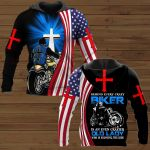 Behind Every Crazy Biker Is An Even Crazier Old Lady Who Is Enjoying The Ride ALL OVER PRINTED SHIRTS
