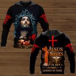 Jesus Saves I'm Just A Nurse Lending My Hand Nurse ALL OVER PRINTED SHIRTS