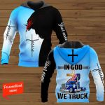 In God We Truck Personalized ALL OVER PRINTED SHIRTS