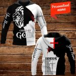 Jesus Is My God My King My Lord My Savior My Everything! Personalized ALL OVER PRINTED SHIRTS