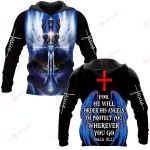 For He Will Order His Angels To Protect You Wherever You Go Psalm 91:11 ALL OVER PRINTED SHIRTS