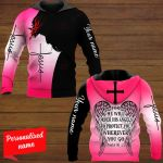 For He Will Order His Angels To Protect You Wherever You Go Psalm 91:11 Personalized ALL OVER PRINTED SHIRTS