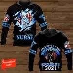 Some Have A Story We Made History #Nurselife 2021 Nurse Personalized ALL OVER PRINTED SHIRTS
