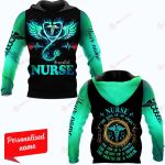 Nurse The Soul Of An Angel The Fire Of A Lioness The Heart Of A Hippie The Mouth Of A Sailor Nurse Personalized ALL OVER PRINTED SHIRTS