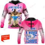 Never Underestimate A Nurse Who does All Things Through Christ who Strengthens Him personalized ALL OVER PRINTED SHIRTS 11012106