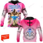 I Can do All Things Through Christ Who Strengthens Me Medical Assistant MA Nurse personalized ALL OVER PRINTED SHIRTS 11012107