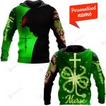 One Lucky Nurse Patrick's Day Patricks Day Irish personalized ALL OVER PRINTED SHIRTS 12012101