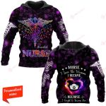 Nurse I Love the Woman I Became Because I tough to become Her personalized ALL OVER PRINTED SHIRTS 11012104